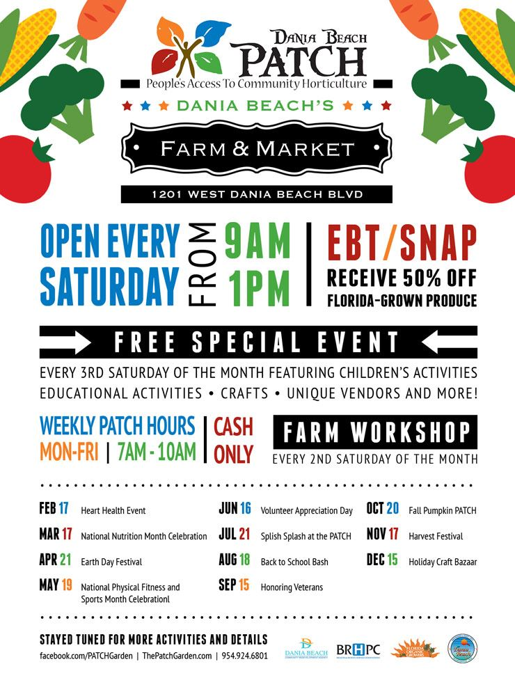 The Patch Dania Beach Farm Workshop