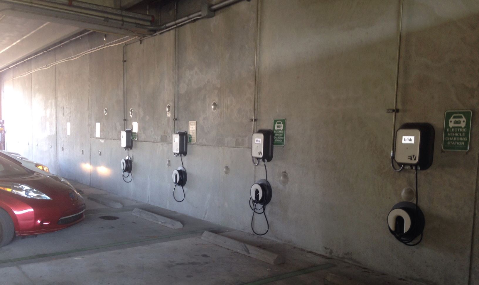 Dania Beach Blink Electric Car Charging Station 2018