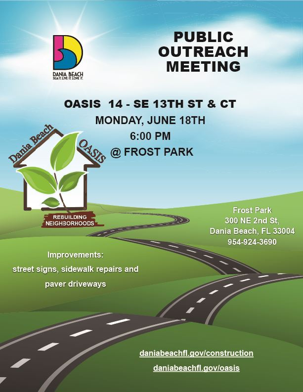 Public Outreach Meeting Oasis 14