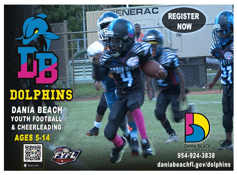 Dania Beach Dolphins Football and Cheerleading Athletic Program