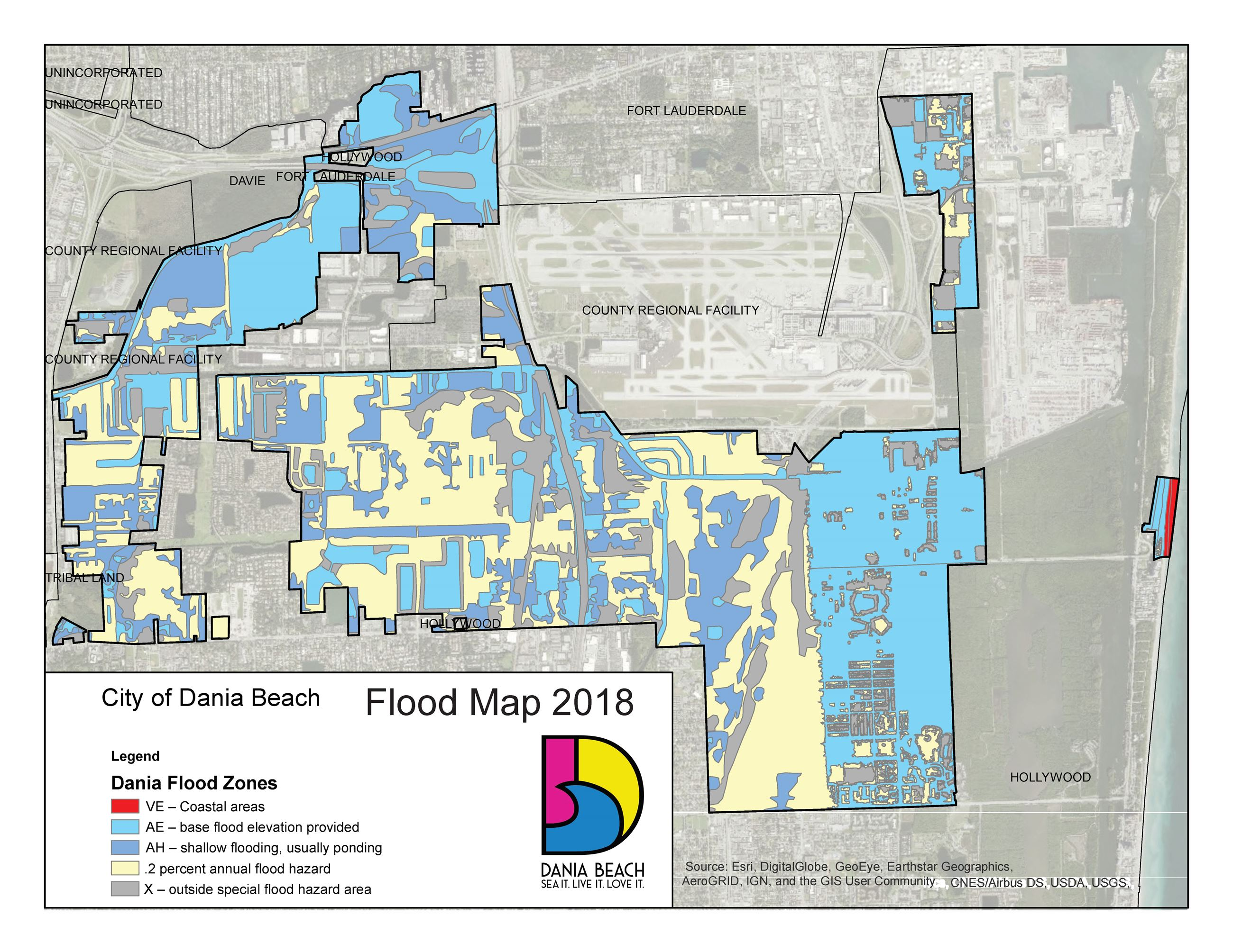 Flood Safety City Of Dania Beach Florida Official Web Site