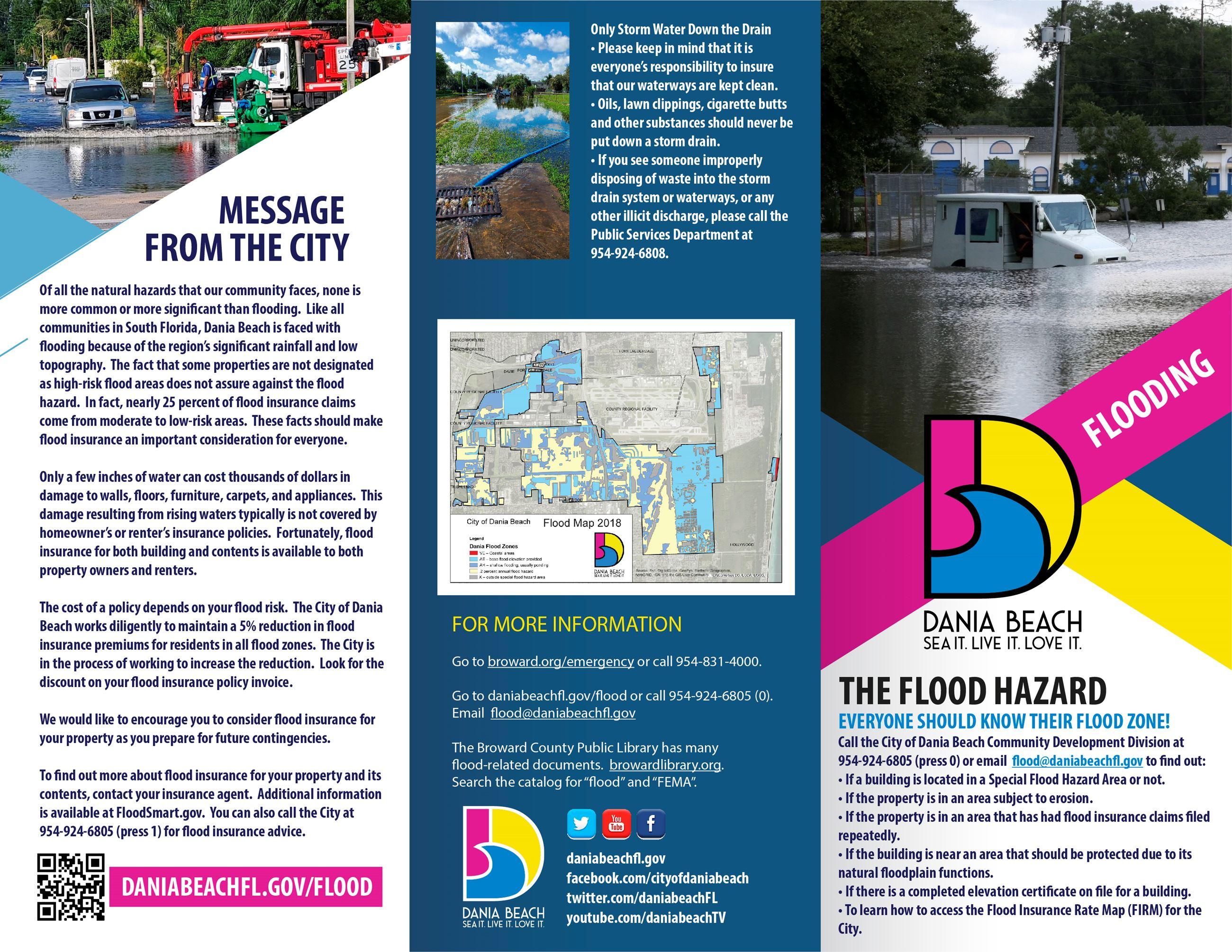 Flood Safety City Of Dania Beach Florida Official Web Site