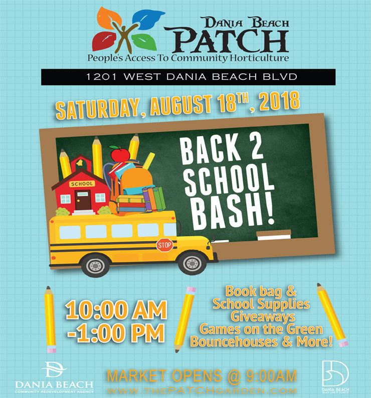 AUG 18 Back to School Bash