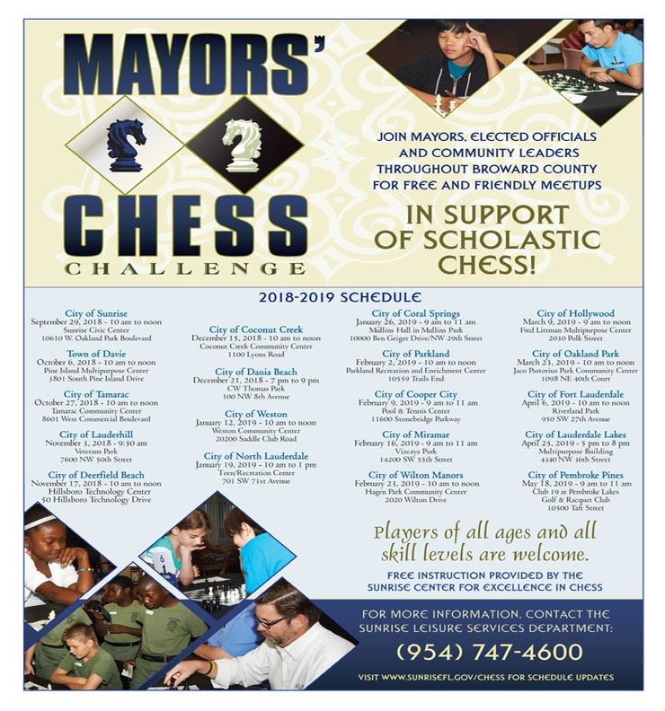 DEC 21 Mayors' Chess Challenge