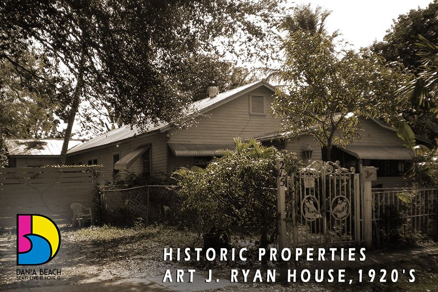 Art J. Ryan House, late 1920's