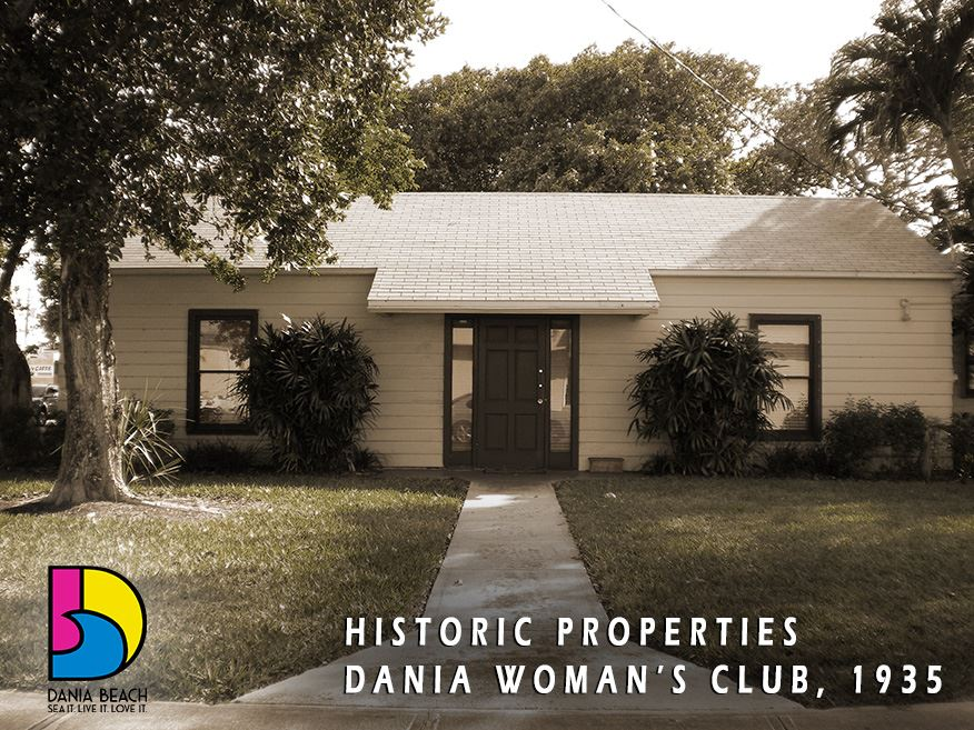 Dania Library & Woman's Club, 1935