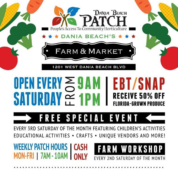 Dania Beach Patch Farm & Market Calendar
