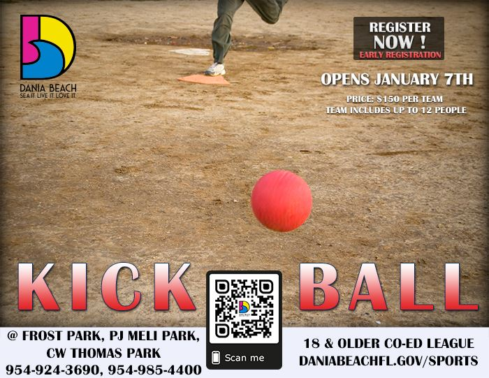 Dania Beach Adult Kickball League
