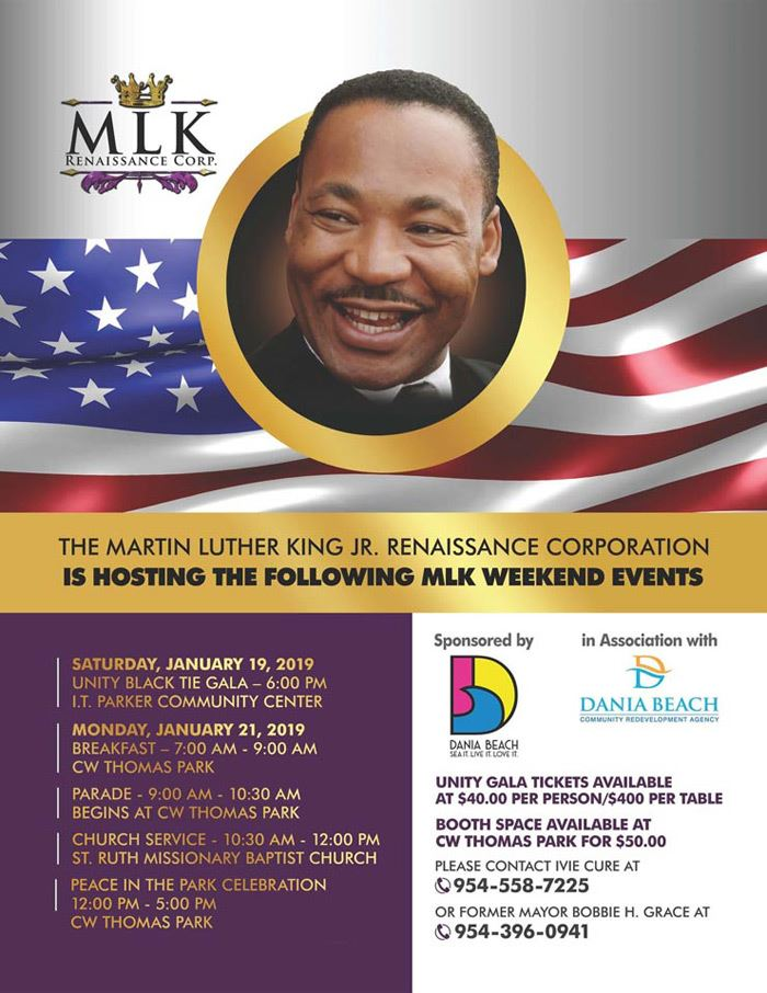Martin Luther King Parade and Celebration in Dania Beach