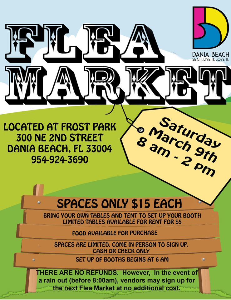 Spring FLEA MARKET in Dania Beach