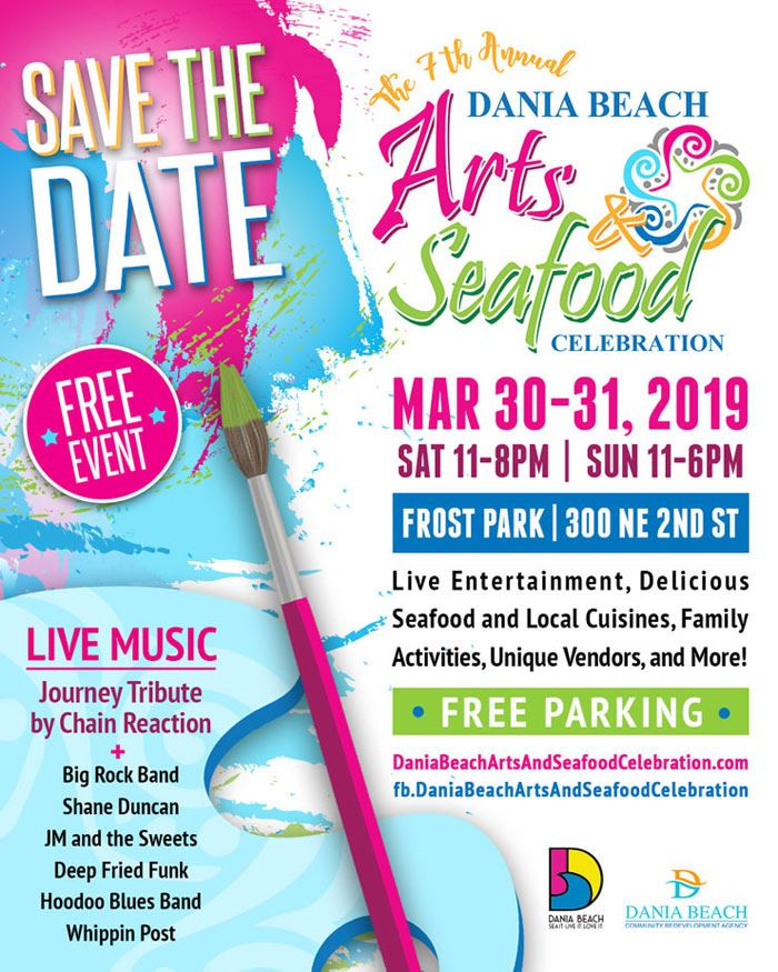 Arts and Seafood Celebration in Dania Beach