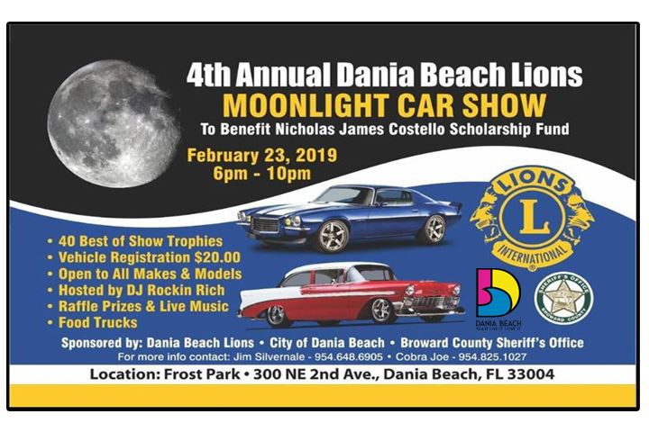 4th-Annual-Dania-Beach-Lions-Moonlight-Car-Show