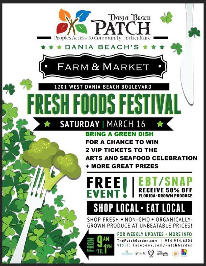 PATCH-Fresh Foods Festival at Dania Beach