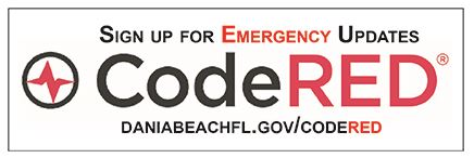 Dania Beach CodeRED Emergency Notifications