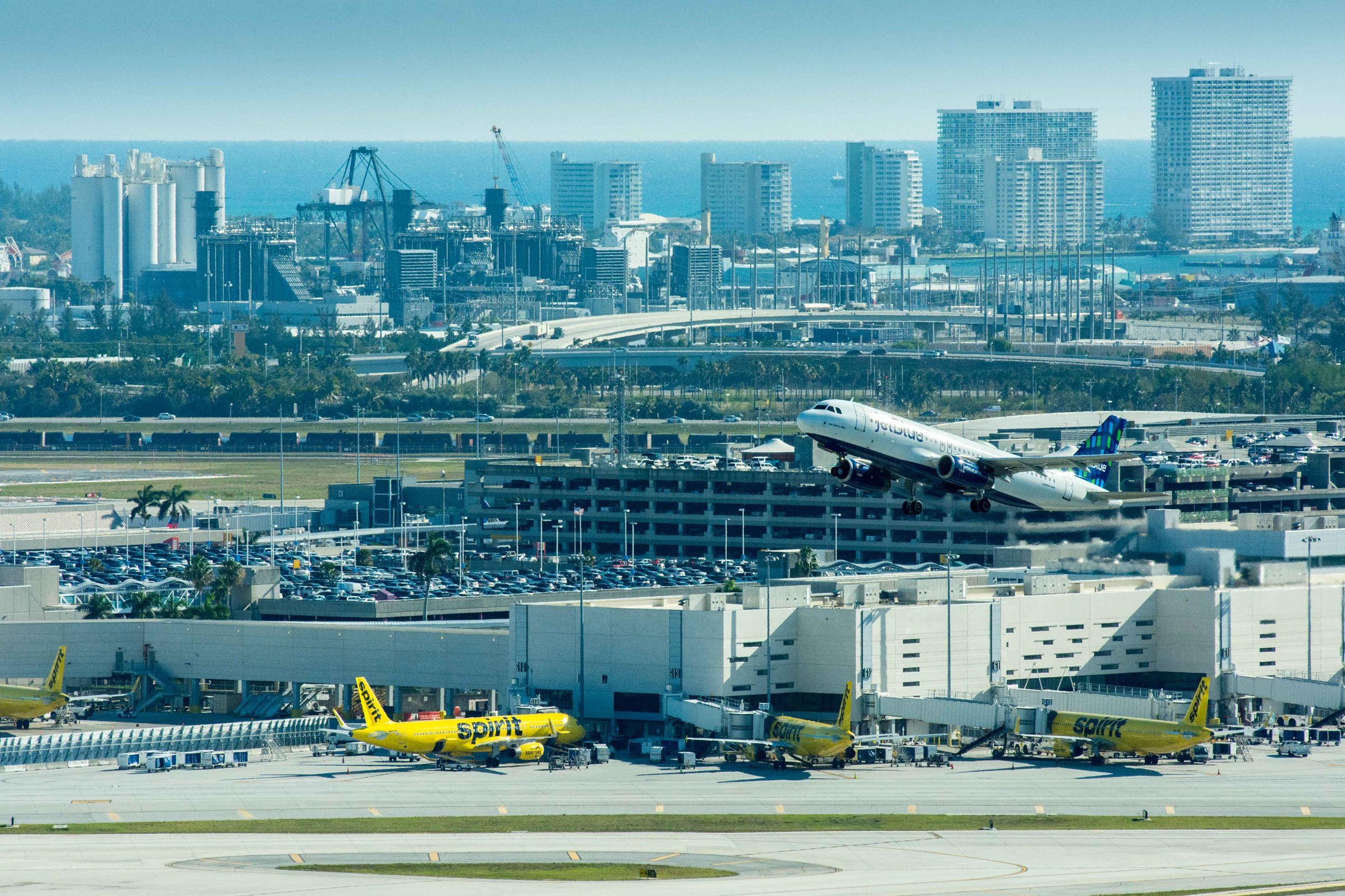 The Fort Lauderdale-Hollywood International Airport   Dania