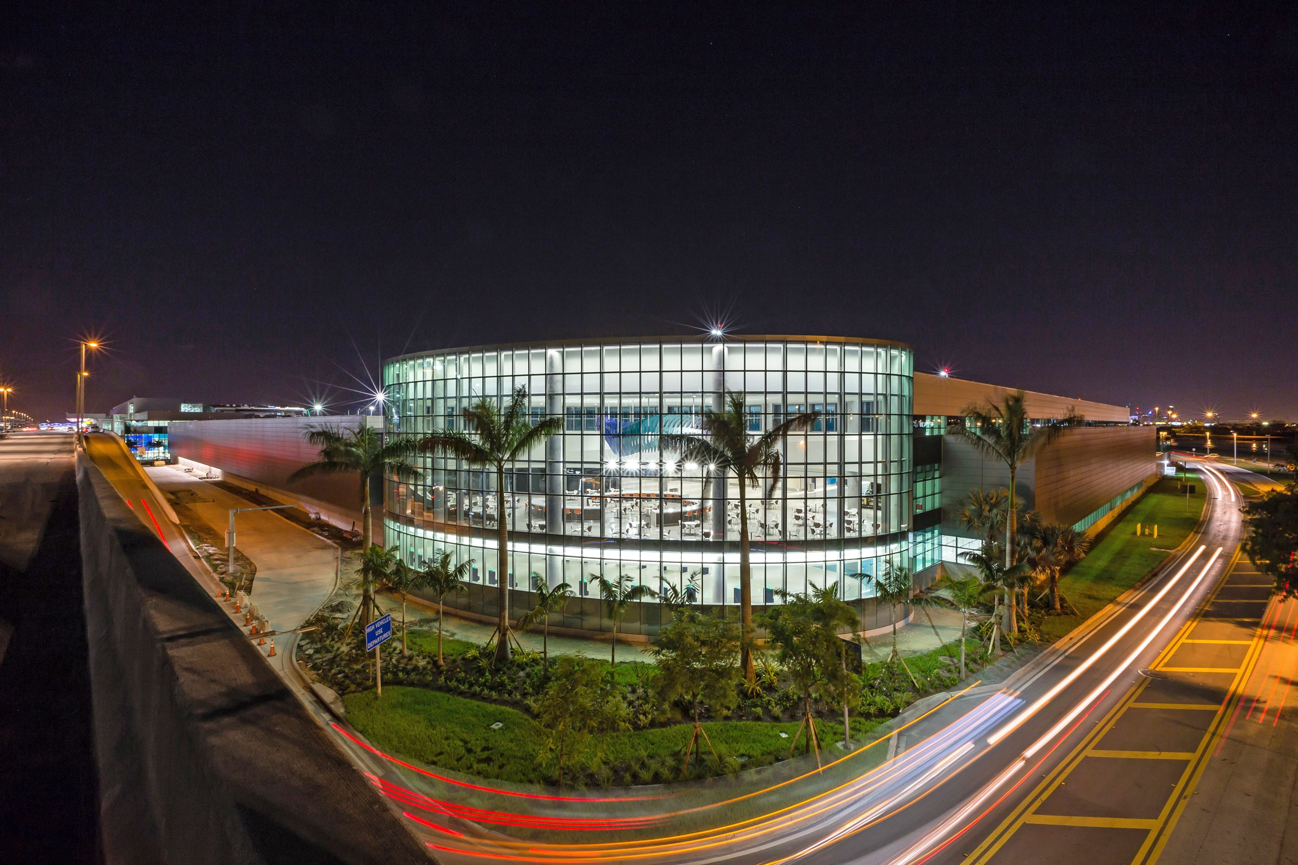 FLL Terminal 1-Lighter Fort Lauderdale-Hollywood International Airport FLL Dania Beach