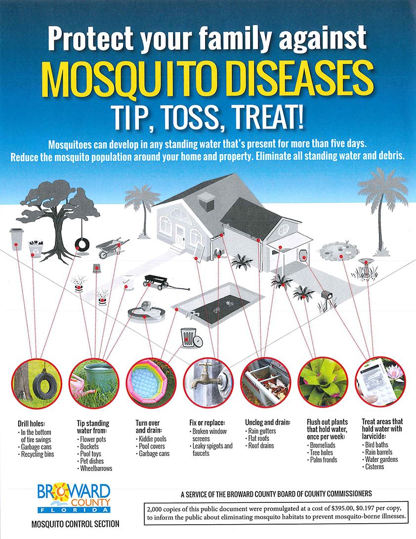 Mosquito Prevention Dania Beach Broward County