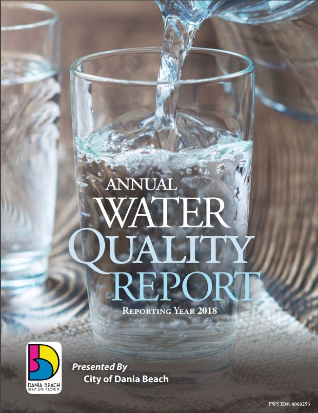 Dania Beach CCR 2018 Water Quality Report