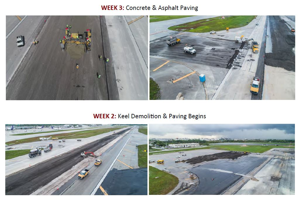 FLL airport construction 617 Dania Beach