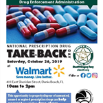 Dania Beach BSO DEA Drug Take Back Oct 26