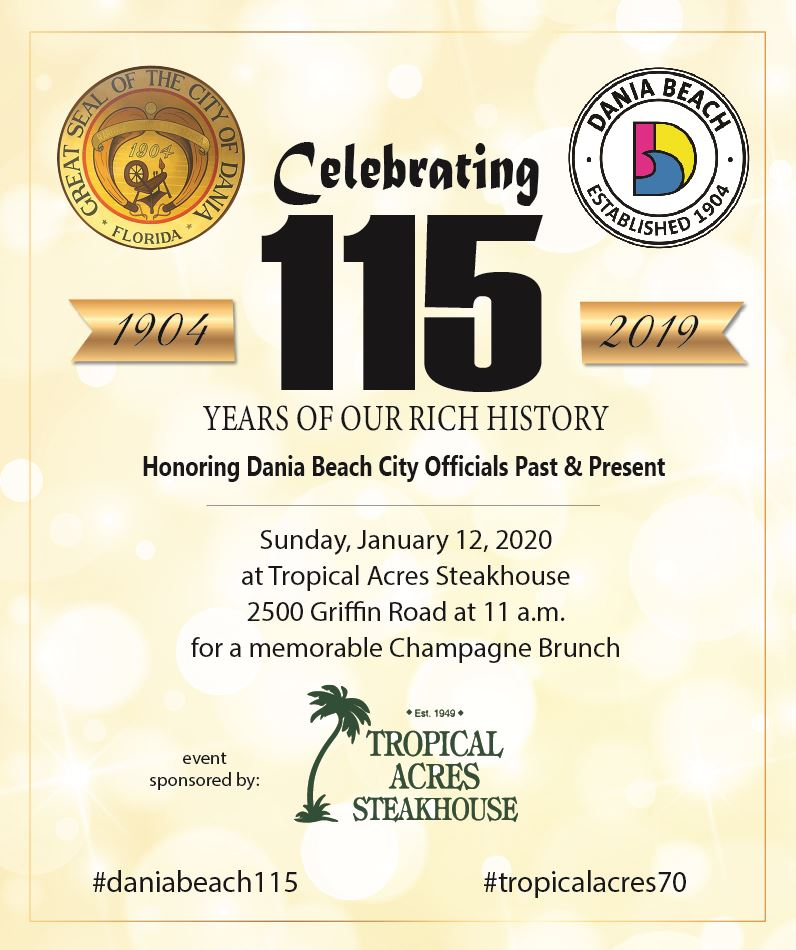 Dania Beach 115th Anniversary Celebration