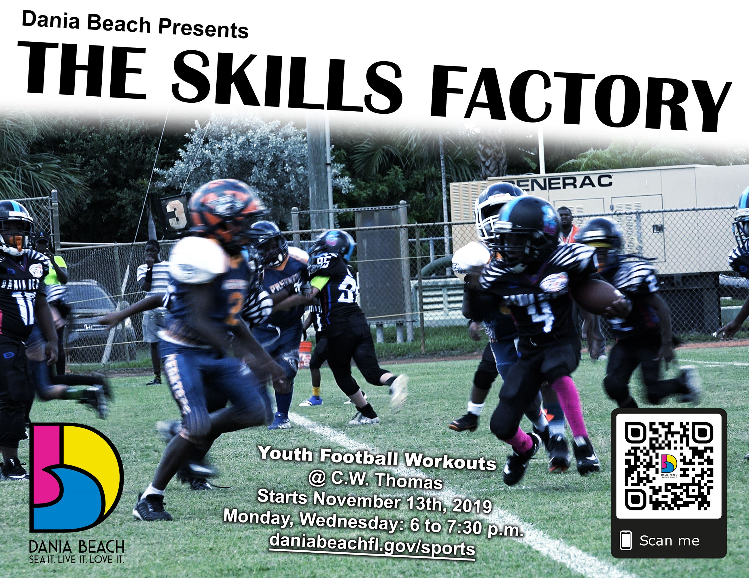 Dania Beach Skills Factory Football Dec13