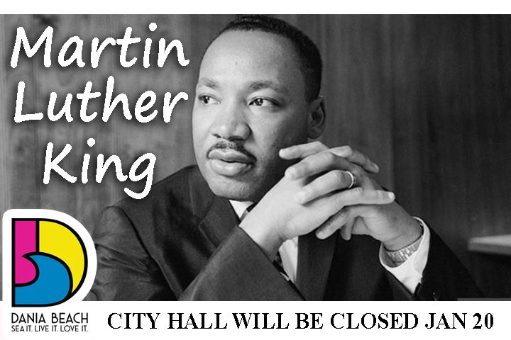 MLK Day - City Hall will be closed