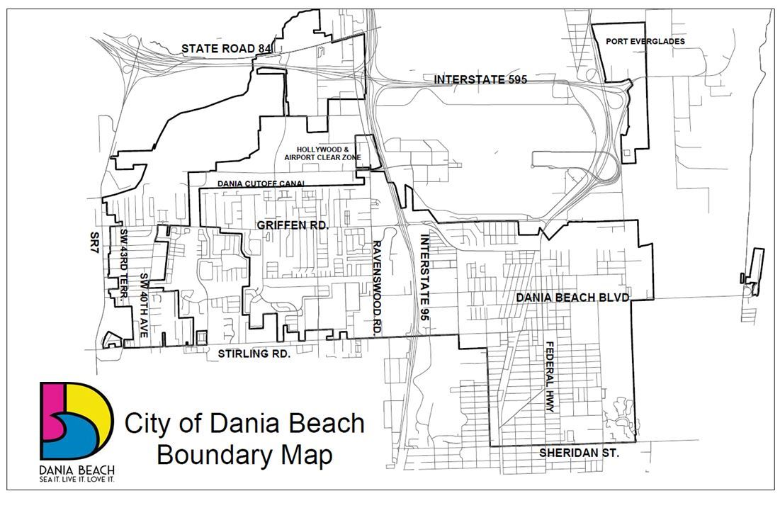 City of Dania Beach Boundary Map