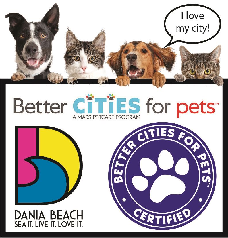 Better Cities for Pets Certified- Dania Beach