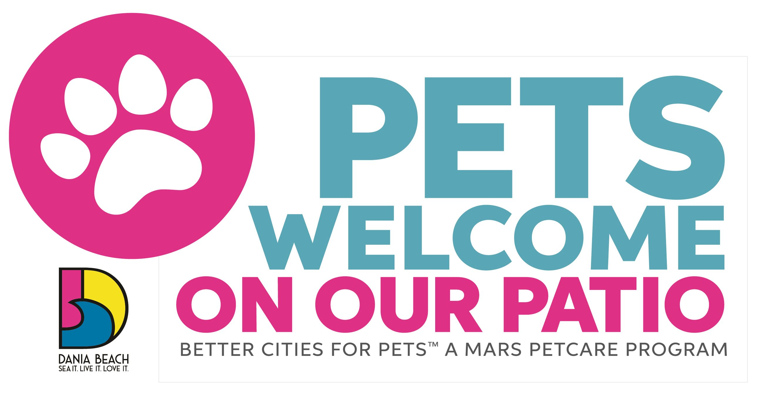 Pets Allowed Inside Sign Dania Beach SM