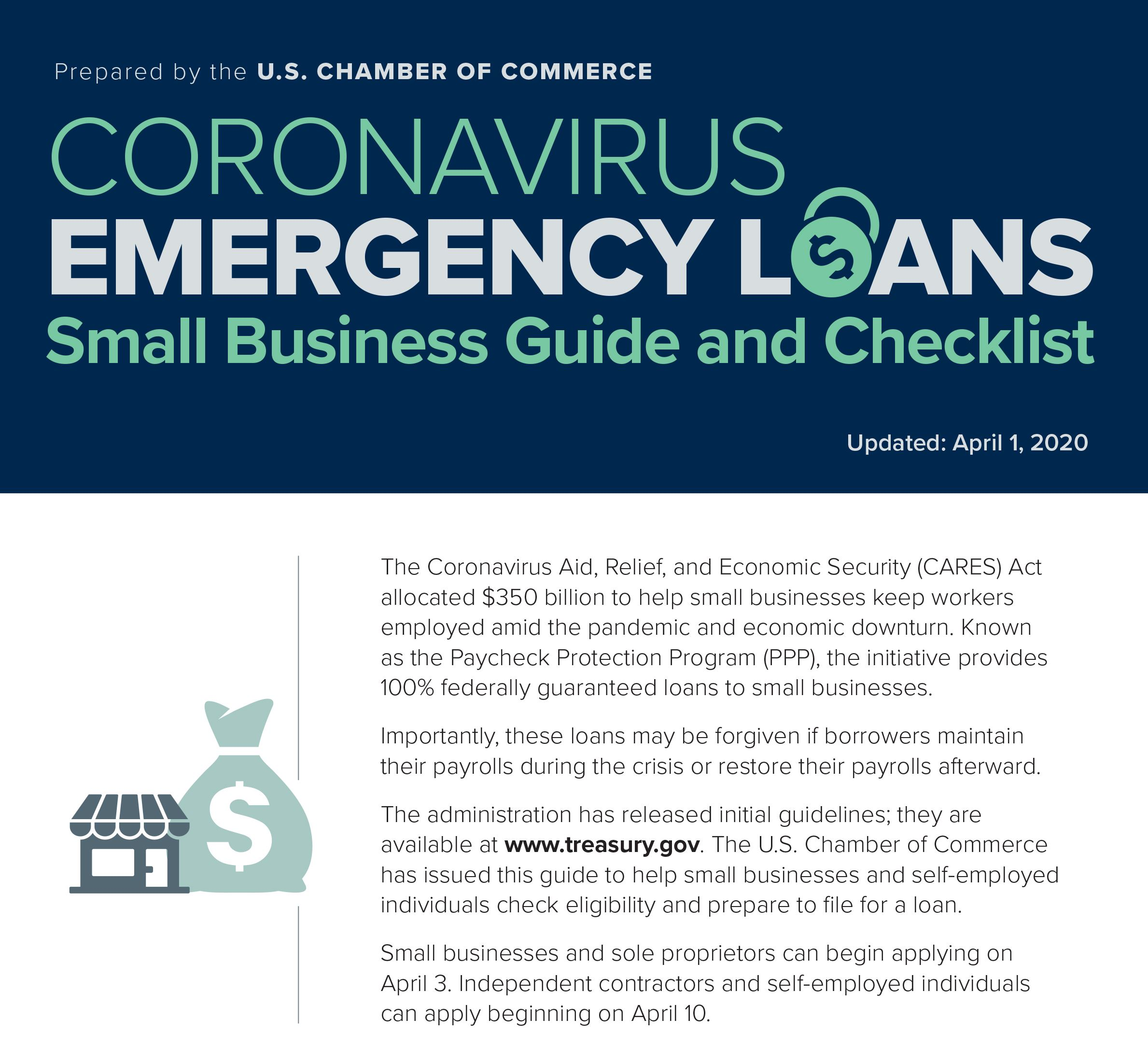 US Chamber Small Business ELA Loan Guide
