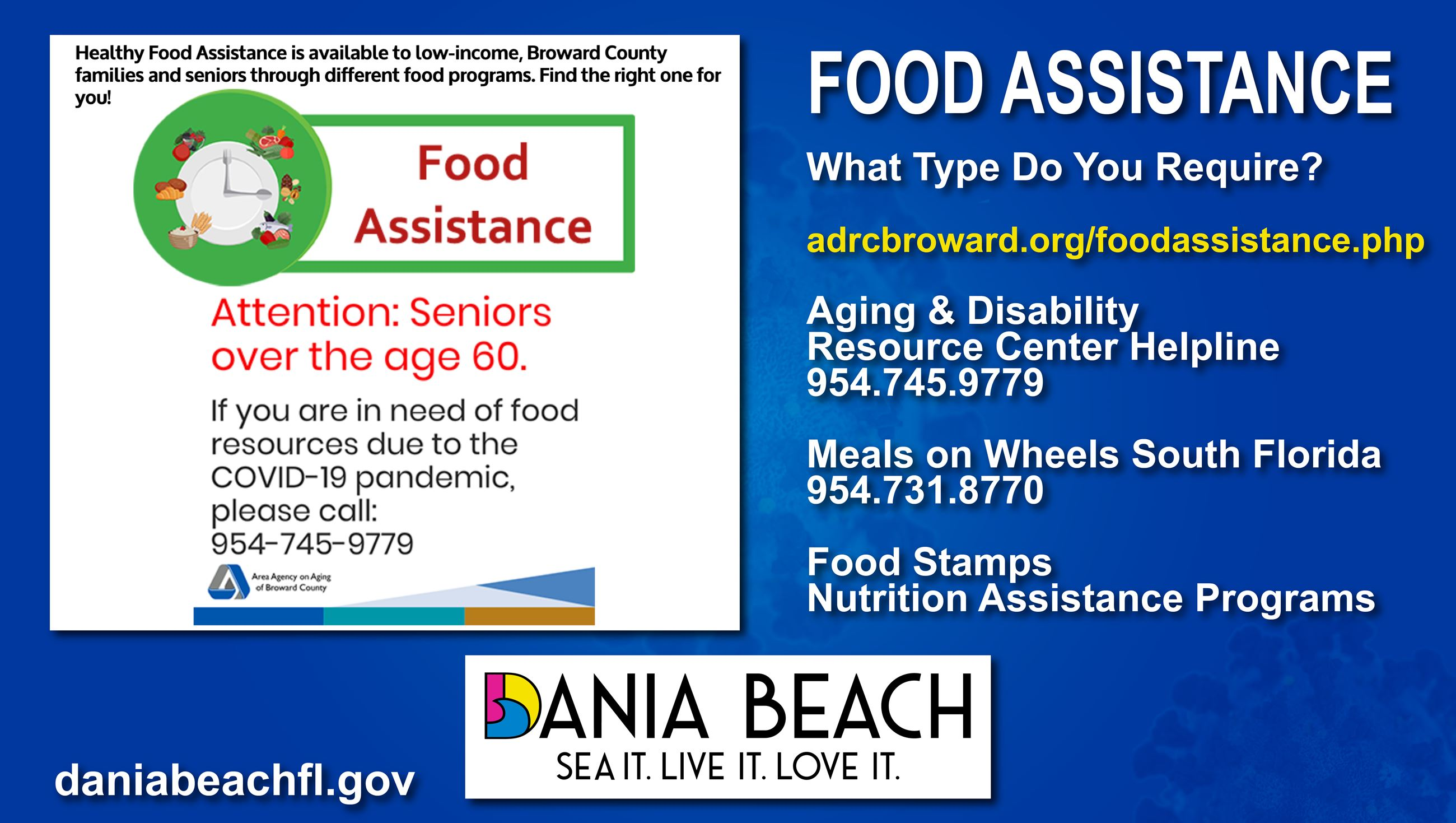 Dania Beach Info - food Assistance