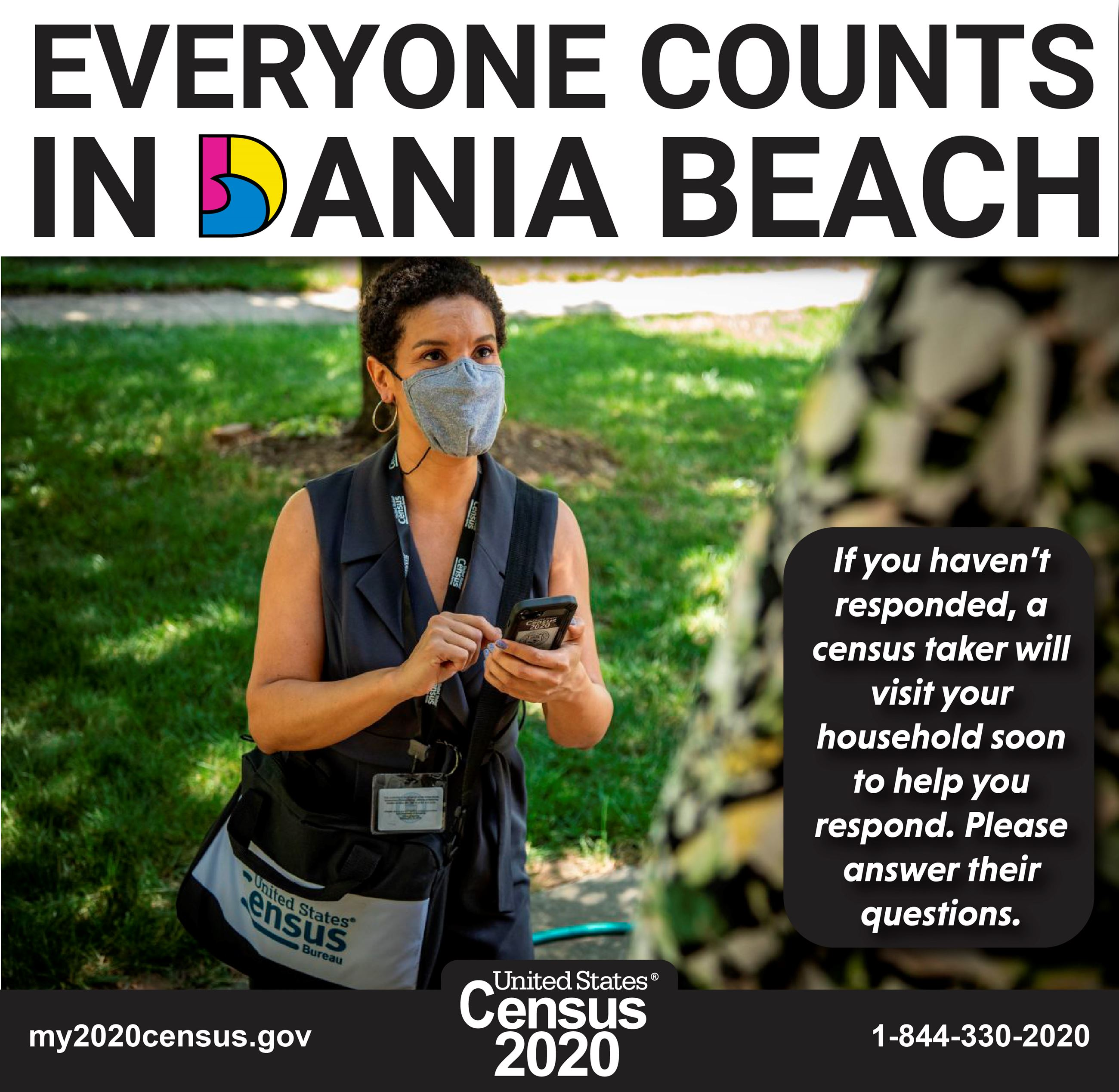 CENSUS TAKERS IN YOUR NEIGHBORHOOD - Dania Beach