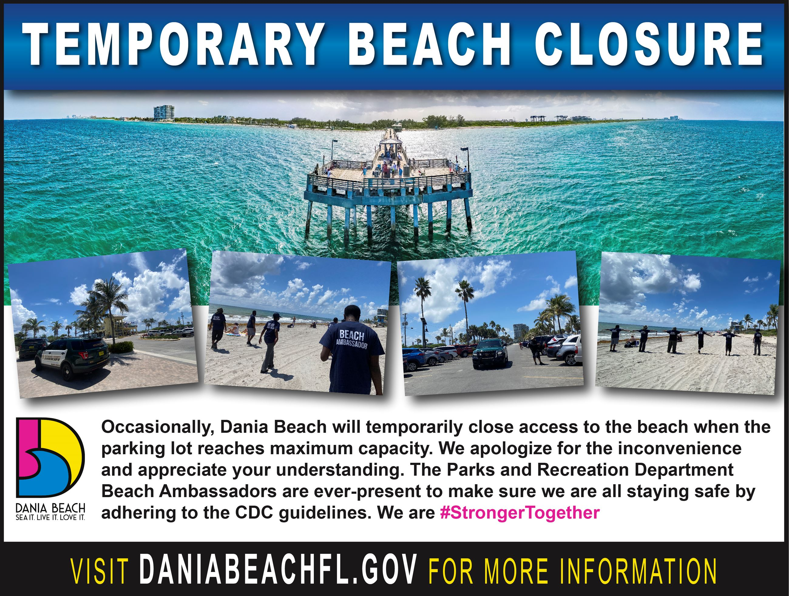 Beach Closure Dania Beach