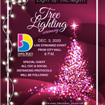 Virtual Holiday Tree Lighting Dania Beach 2020