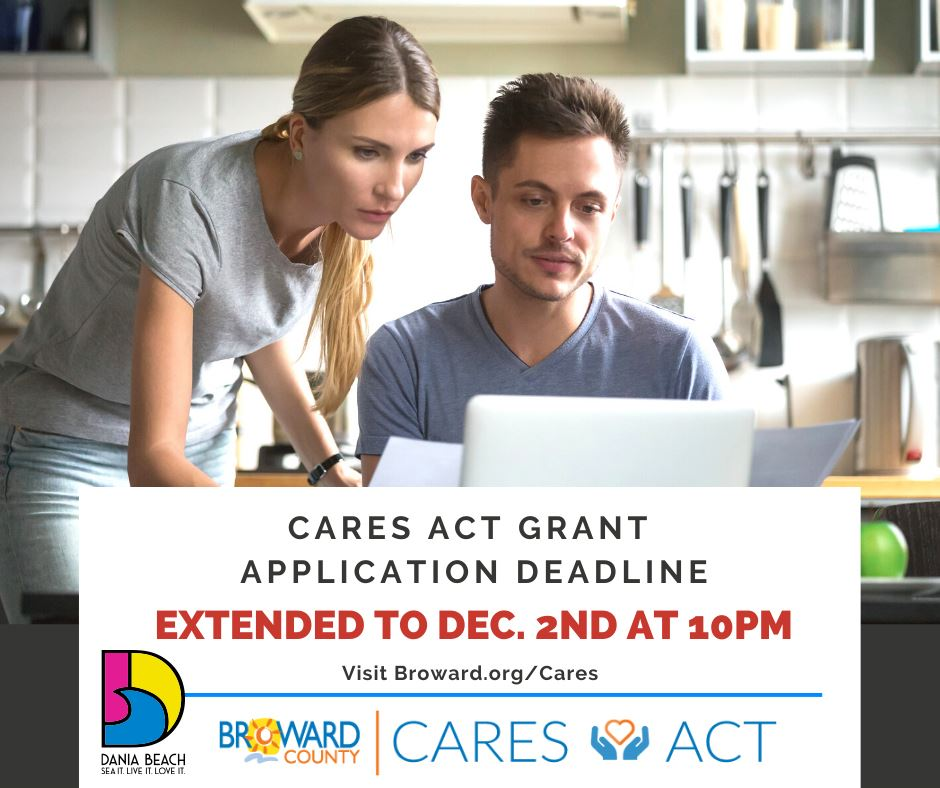 CARES Act Grant Assistance Program Dania Beach