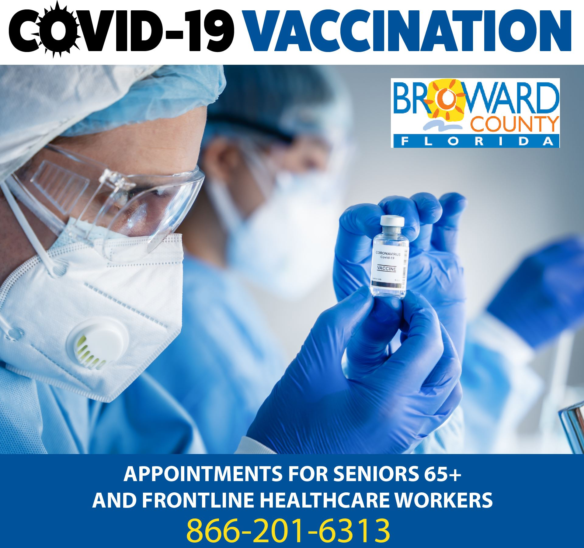 COVID19 Vaccine Appointments in Broward County