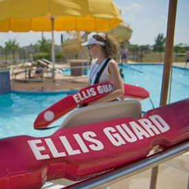 lifeguard Jeff Ellis