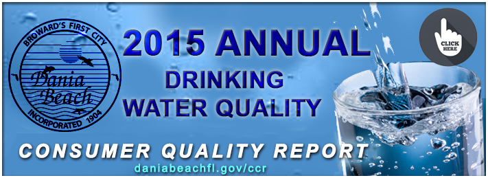 The Dania Beach Water Quality Reports
