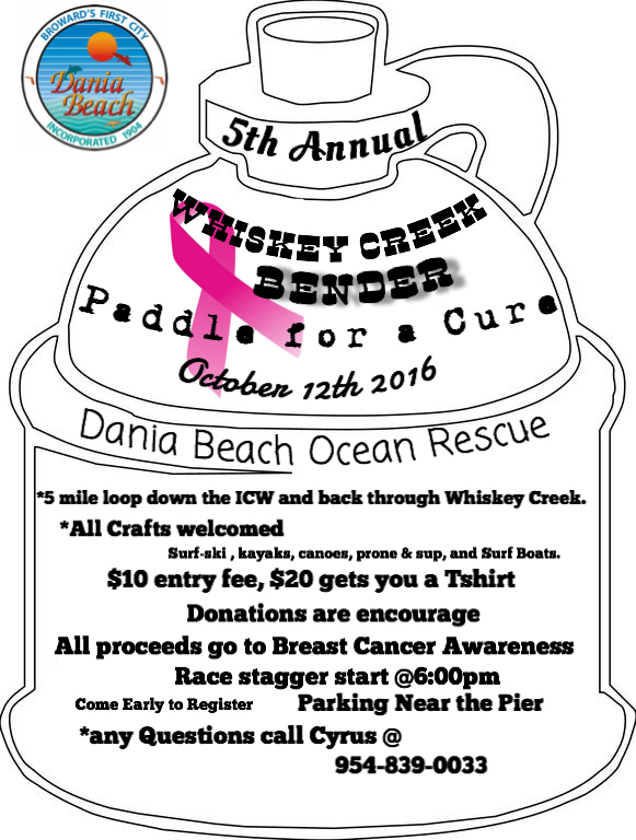 5th Annual Whiskey Creek Bender Flyer