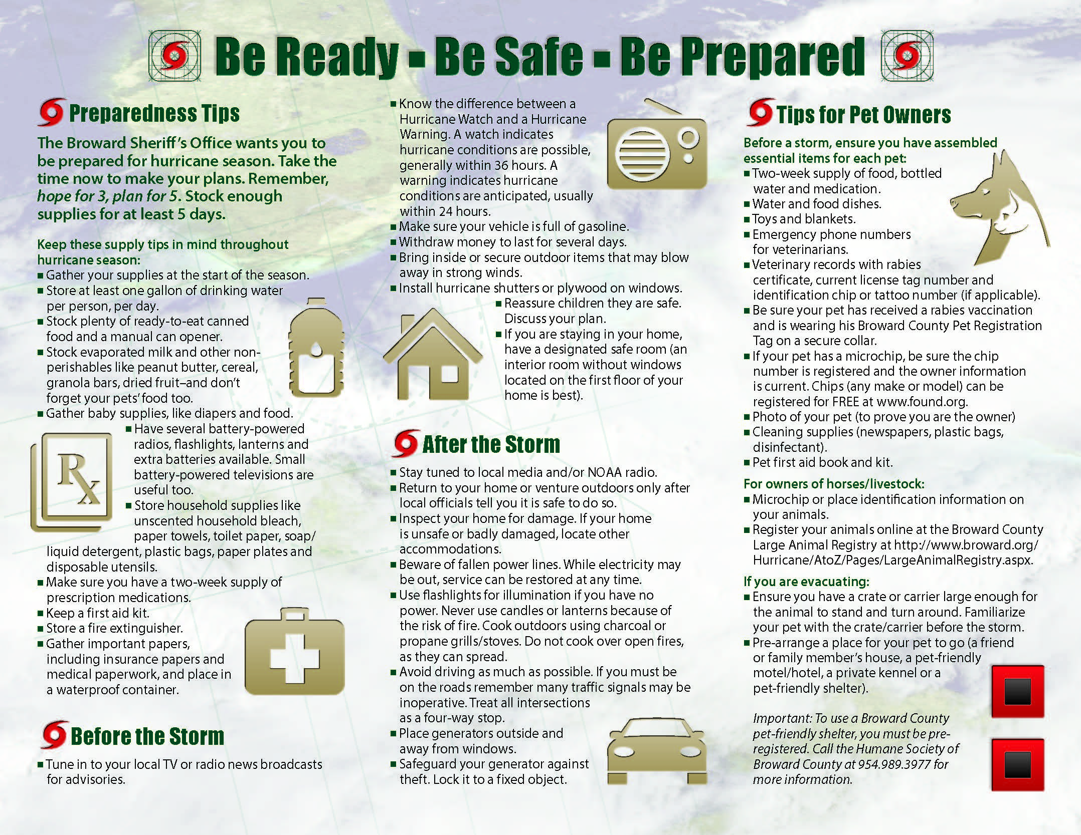 Hurricane Preparedness Guide BSO