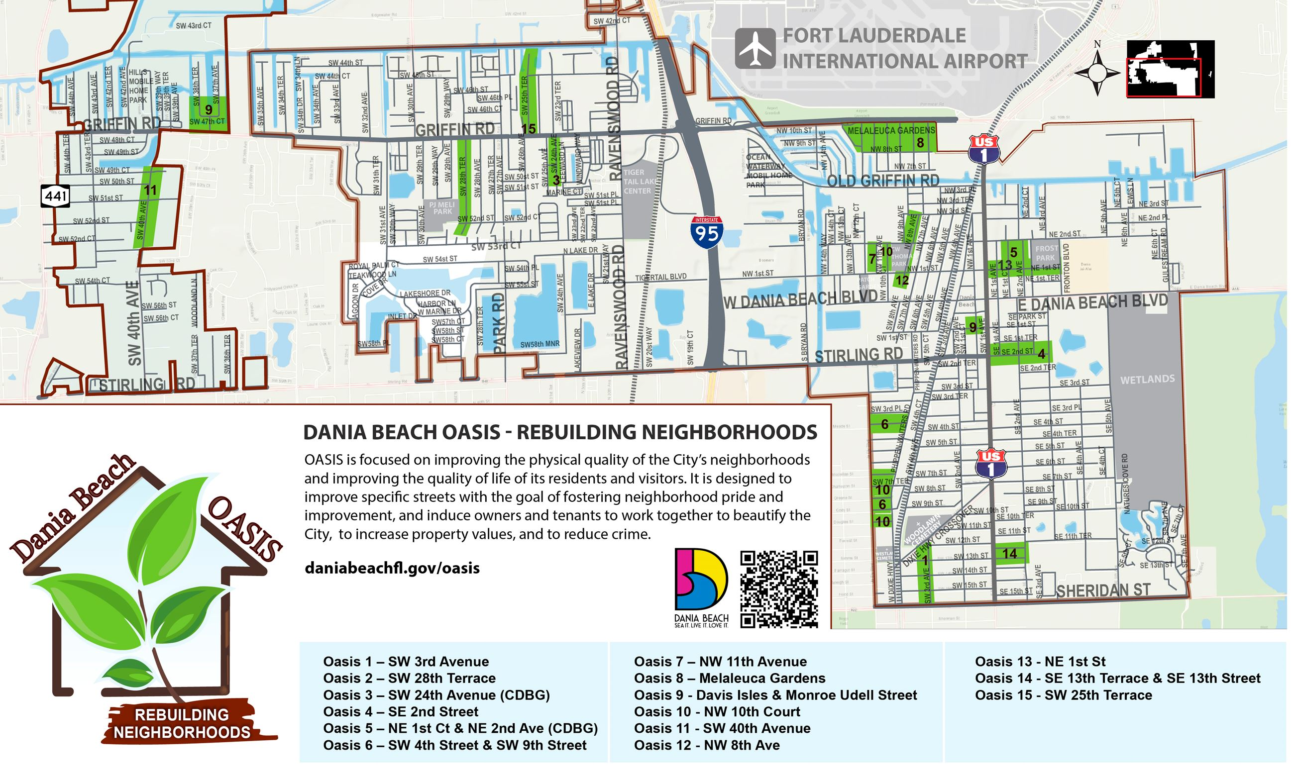 Dania Beach Oasis Map - Rebuilding Neighborhoods