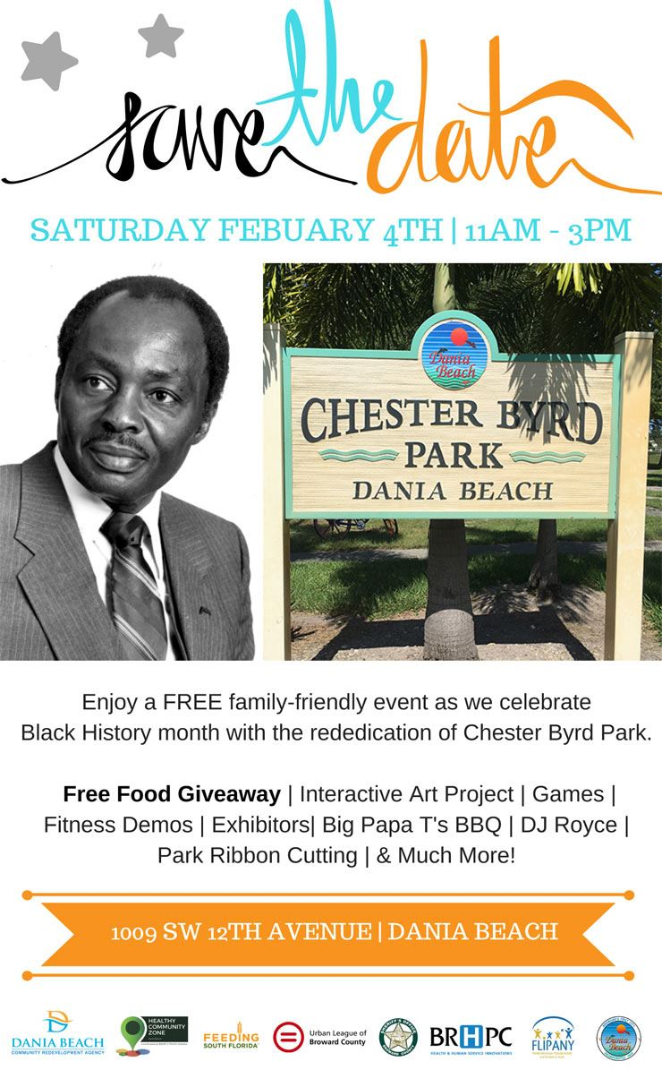 Feb 4 Chester Byrd Park Rededication