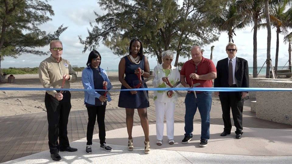 March 14 Beach Ribbon Cutting Ceremony