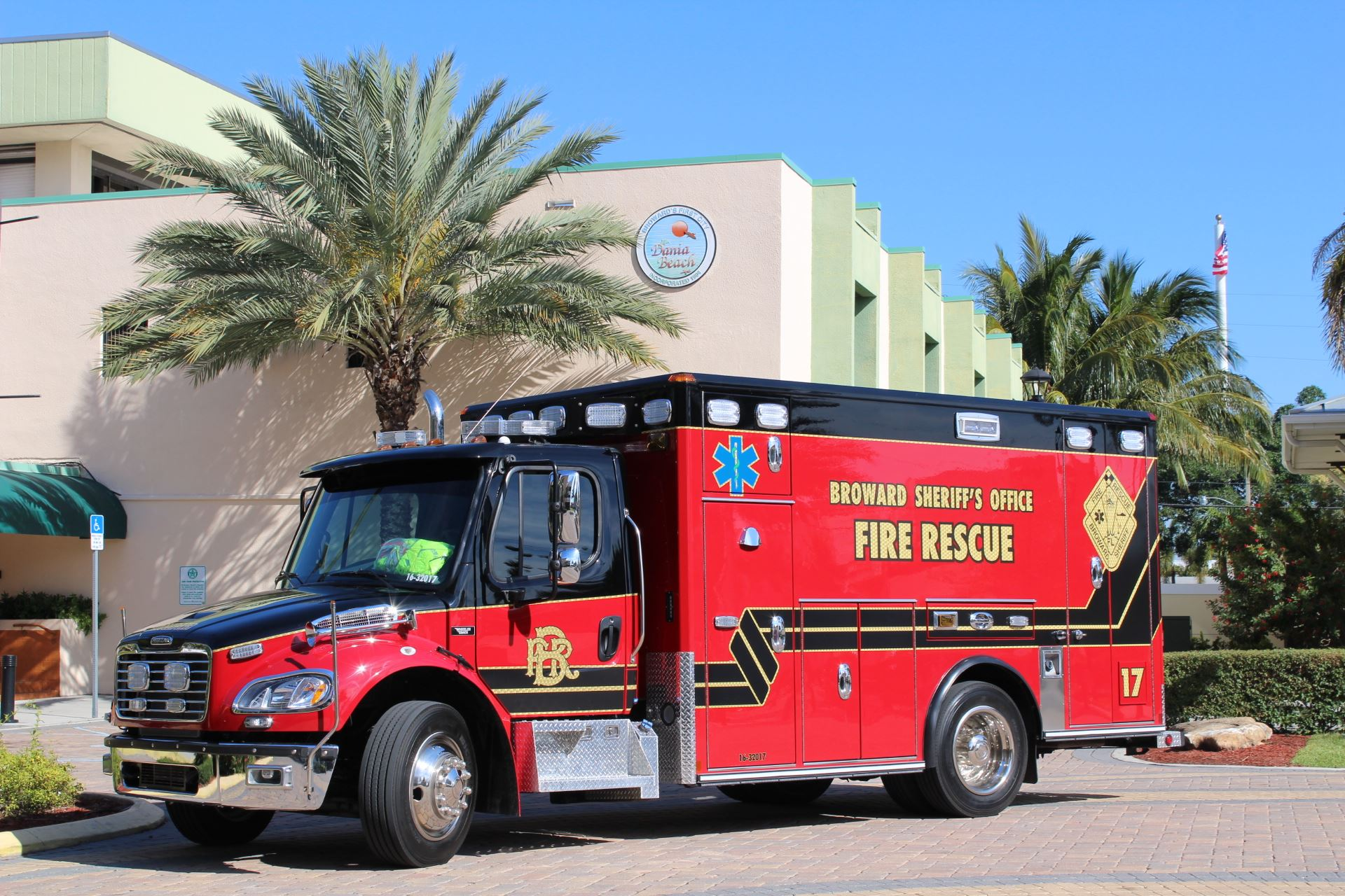 New Fire Rescue Truck Dania Beach