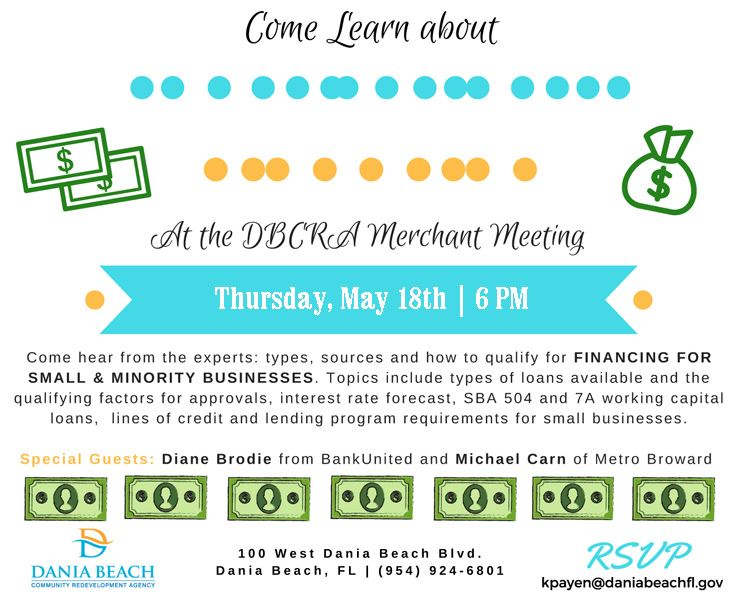 May 18 DB CRA Merchant Meeting