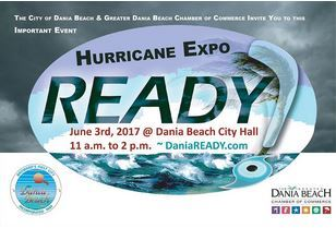 June 3 DaniaREADY Hurricane Expo