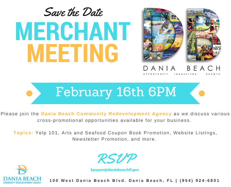 Feb 16 Merchant Meeting