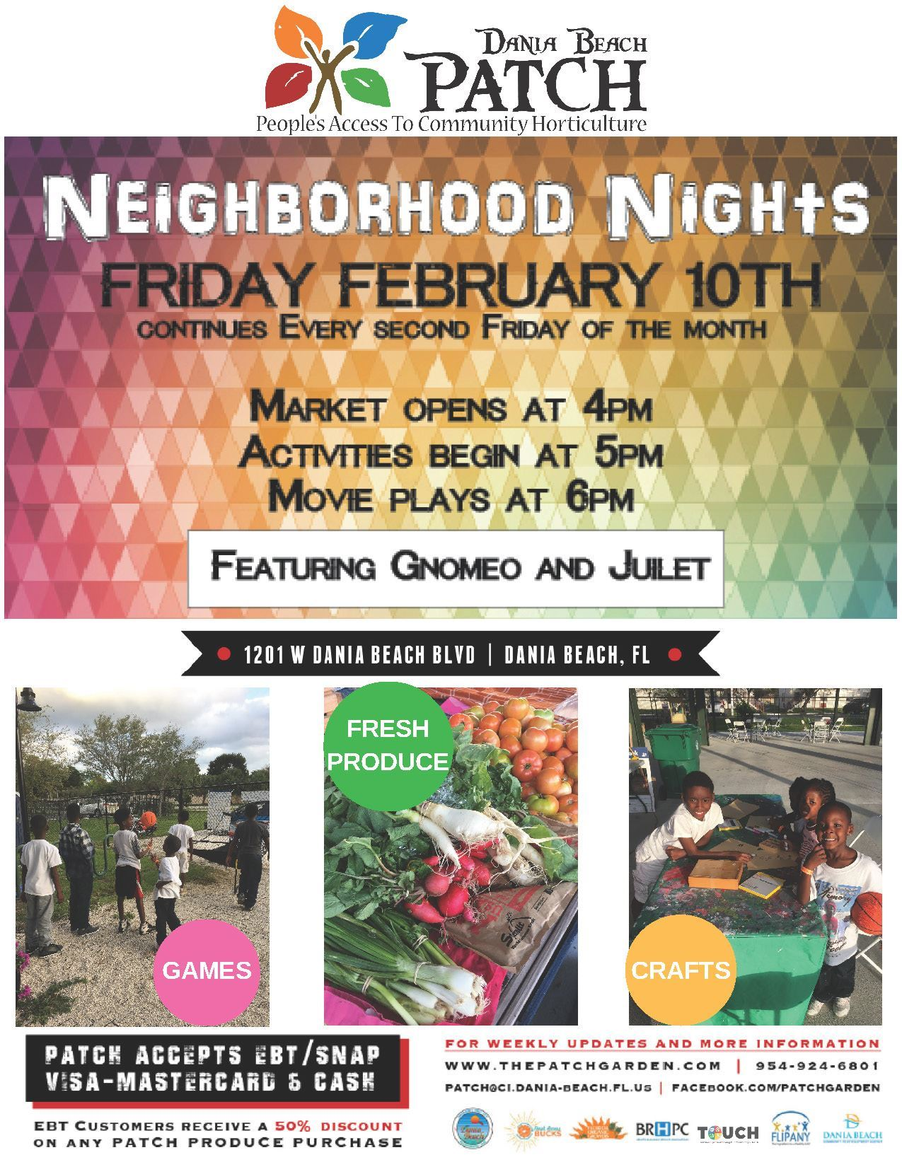 Feb 10 Neighborhood Night