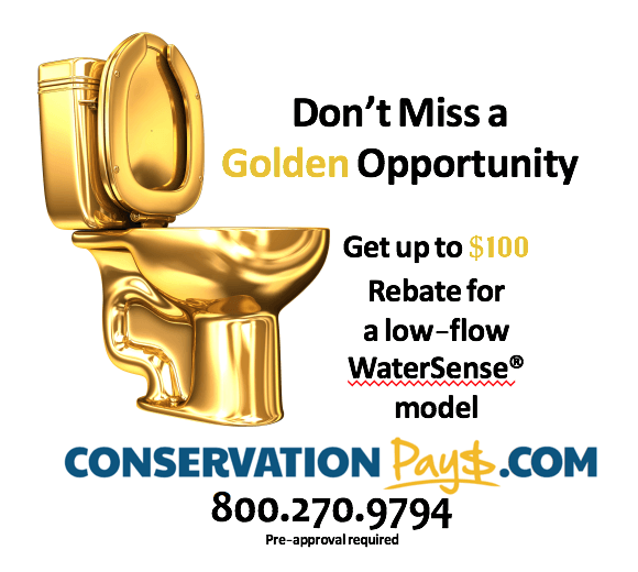 Toilet Rebate - Water Conservation Dania Beach
